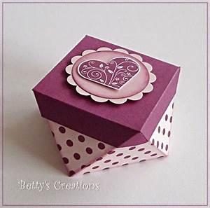 Geschenkbox Selber Basteln : schachtel selber basteln schachteln basteln f r kleine geschenke vorlagen und ideen schachtel ~ Watch28wear.com Haus und Dekorationen