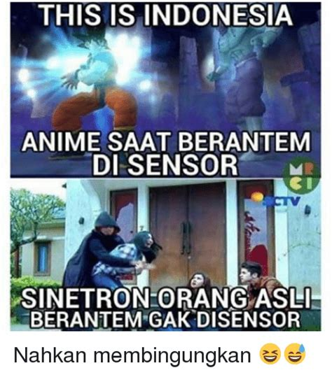 Anime Indonesia Com This Is Indonesia Anime Saat Berantem Di Sensor M Obi