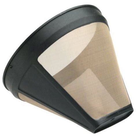 Our kitchenaid® craft coffee team is constantly innovating to create better brewers. Gold Tone #2 Permanent Cone Coffee Filter, Brown | Krups coffee maker, Krups, Krups coffee