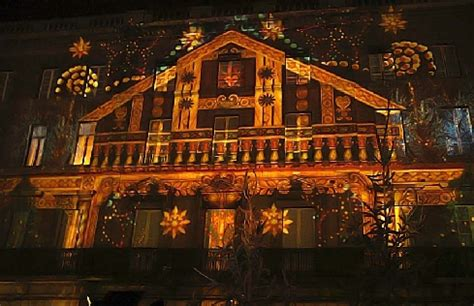 illumination de noel exterieur les illuminations de no 235 l et la projection d images monumentales