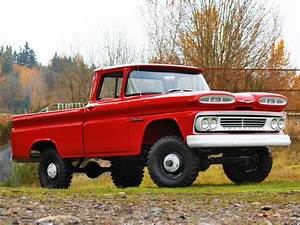 1960 Chevrolet Apache 10 Fleetside Pickup Truck K14 4x4