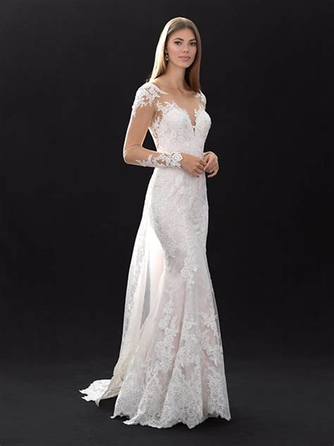 mj madison james bridal gown