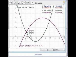 Mitternachtsformel Berechnen : schnittpunkte von parabel und gerade berechnen doovi ~ Themetempest.com Abrechnung