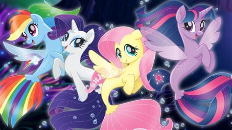 seaponies ponies mermaids    pony