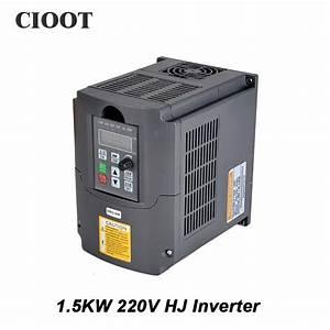 1 5kw 220v Inverter Variable Frequency Drive Vfd Inverter