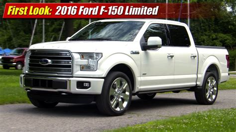 2016 Ford F150 Limited by Look 2016 Ford F 150 Limited Testdriven Tv