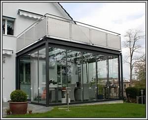 wintergarten unter balkon wie isolieren balkon house With markise balkon mit my home tapeten