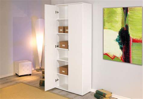 Mehrzweckschrank Schrank Büroschrank In Weiß Mit 2 Türen