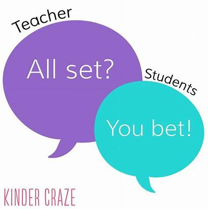 Classroom Management Teachers Phrases Quotes Expressions Attention