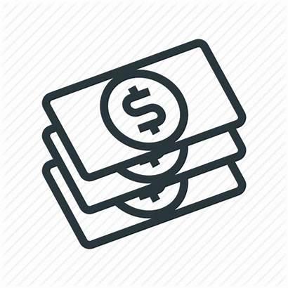 Icon Rewards Money Dollars Bills Icons App