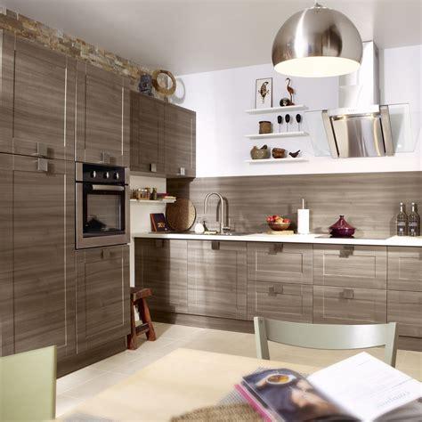 tv cuisine meuble de cuisine décor chêne blanchi delinia karrey