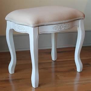 antique, vanity, stool