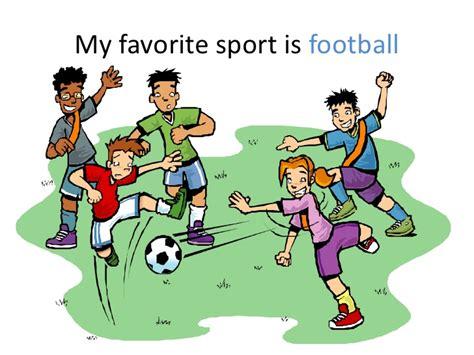 Sport Is My my favorite sport