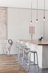 Cuisine Avec Parquet : la cuisine blanche et bois en 102 photos inspirantes ~ Melissatoandfro.com Idées de Décoration