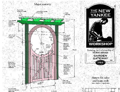 dempsey woodworking garden gate