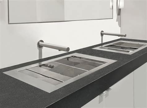 flush kitchen sink the only authentic flush mount sink abode 1036
