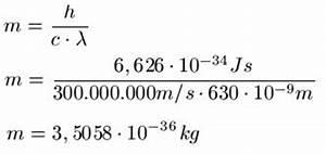 Frequenz Berechnen Formel : photonen masse ~ Themetempest.com Abrechnung