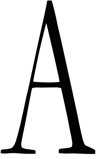 image 26 letters in the alphabet png the amazing letter a alphabet 183 free image on pixabay 86435