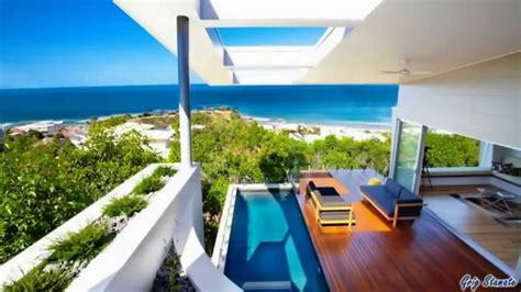modern beach house queensland australia youtube