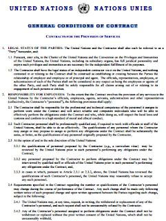 general conditions  contract general conditions
