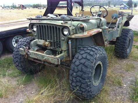 willys jeep truck green jeep cj7 for sale image 46