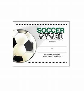 soccer end of season award certificate free download With soccer certificate templates for word