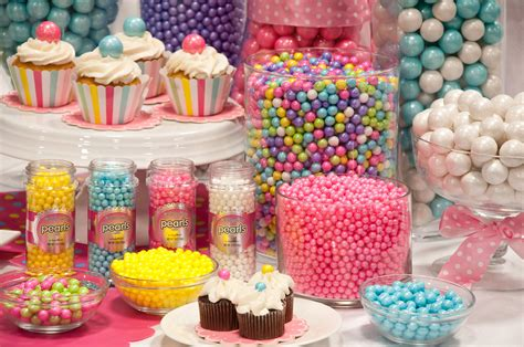 Colorful Candy Buffet With Celebration By Sweetworks Its