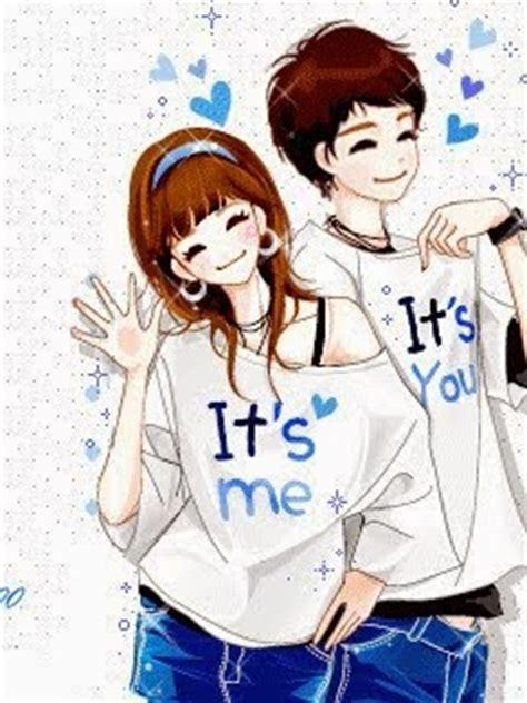 foto anime korea romantis kumpulan gambar animasi kartun korea romantis