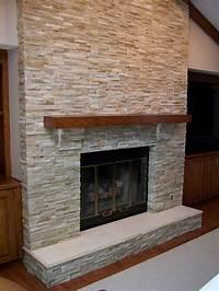 stone tile fireplace designs Fireplace Stone Tile