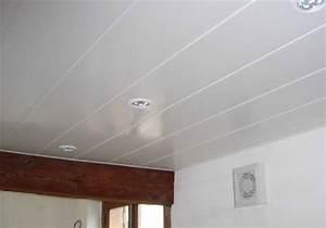 Comment Recouvrir Du Lambris : recouvrir lambris plafond recouvrir un plafond en lambris perfect lambris bois blanc u ides ~ Melissatoandfro.com Idées de Décoration