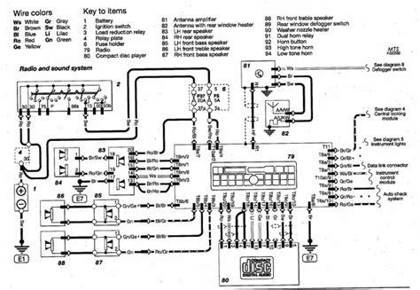 b5 audi radio and sound system wiring diagram audizine