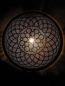 Décoration Murale Orientale : d coration marocaine appliques murales applique luminaire marocaine ronde en m tal home ~ Teatrodelosmanantiales.com Idées de Décoration