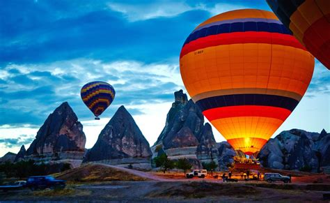 Watch The Sunset In Cappadocia Turkey