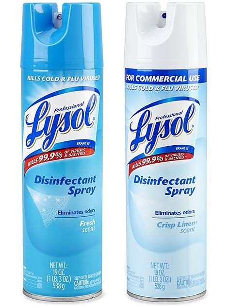 Disinfectant Spray, Lysol Disinfectant Spray in Stock - ULINE