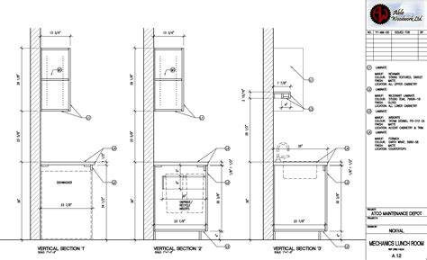 wall plate cover millwork shop drawings freelance architectural design