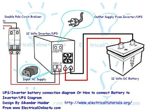 Apc Wiring Diagram by Inverter Wiring Diagram Free Wiring Diagram Collection