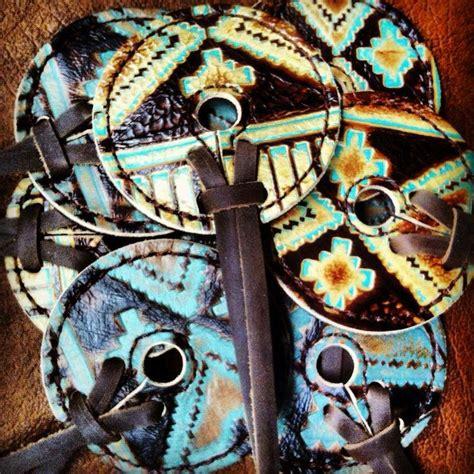 tack horse rodeo barrel western racing running award bit aztec tribal porrrn roan child spur barrels saddles