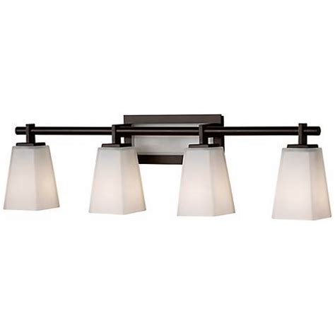 Bronze Bathroom Light Fixture by Feiss Clayton 31 1 2 Quot Wide Bathroom Light Fixture R9264
