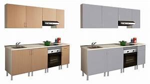 Muebles De Cocina Por Modulos En Leroy Merlin Ocinel