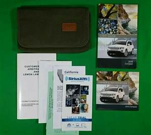 2008 08 Jeep Wrangler Suv Owners Manual Books Guide Case
