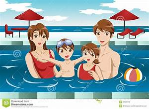 Family Swimming Clipart - Clipart Suggest