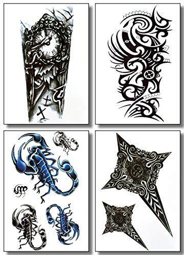 temporary tattoos  men guys teens fake tattoo