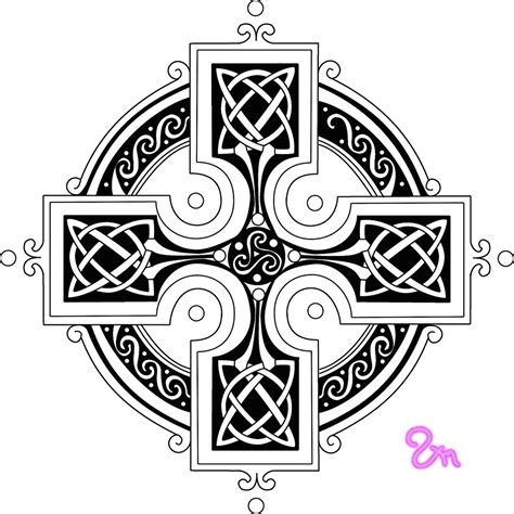 Free Coloring Pages Of Celtic Sun