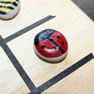 Tic Tac Toe Spiel : creadienstag tic tac toe spiel aus steinenmama ~ Orissabook.com Haus und Dekorationen