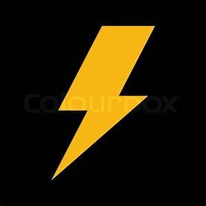 Electric Lightning Bolt Symbol