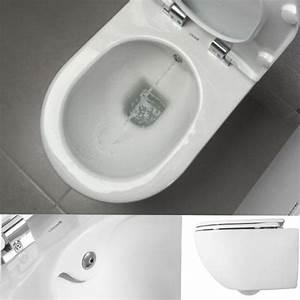 Wc Mit Bidet Funktion : sp lrandlos h nge wand dusch wc taharet bidet taharat toilette creavit fe321 mit flach d se ohne ~ Frokenaadalensverden.com Haus und Dekorationen