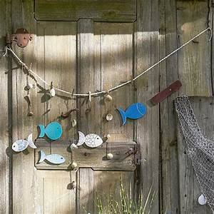 Fische Aus Holz : 98 besten maritime tischdeko bilder auf pinterest deko ideen ahoi und bastelei ~ Buech-reservation.com Haus und Dekorationen