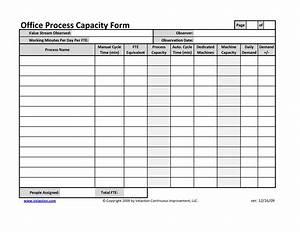Office Process Capacity Sheet