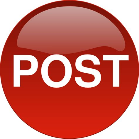 lpost or l post post button clip art at clker com vector clip art online