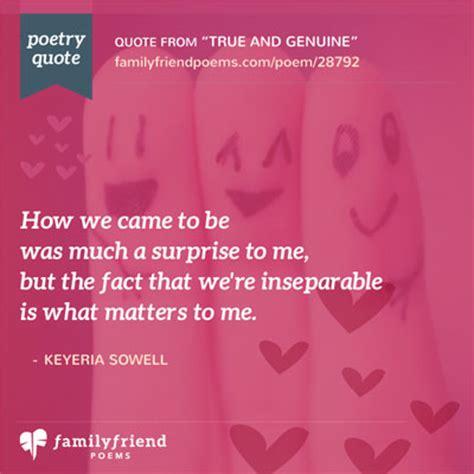 poem  true friends    true  genuine